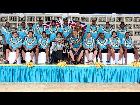 Fijian President congratulates the Rio Olympic 2016 Gold Winner 7