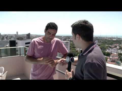 Replay - Invadindo a área André Dias - Santa Cruz - TV Jornal / SBT HD