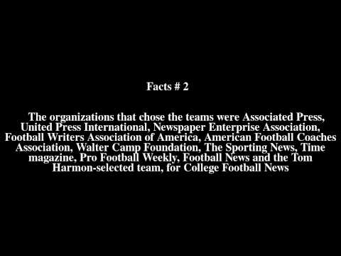 1976 College Football All-America Team Top # 5 Facts