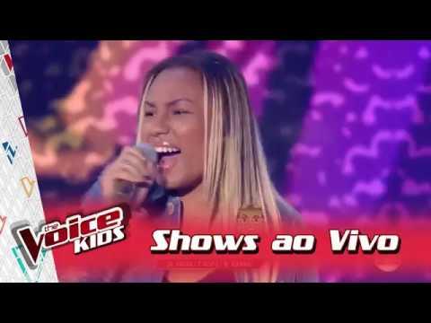 Talita Cipriano canta 'Esse Brilho é Meu' nos Shows Ao Vivo – 'The Voice Kids Brasil'   3ª Temporada