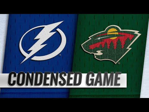 10/20/18 Condensed Game: Lightning @ Wild