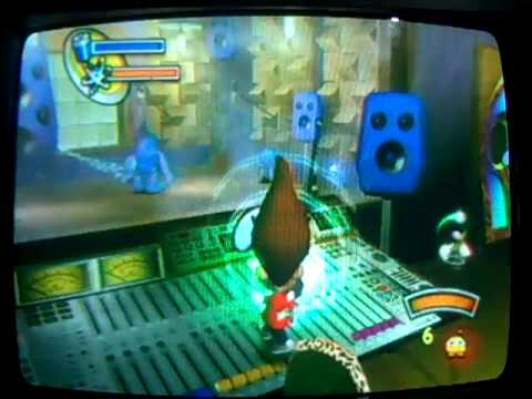 Lets Play Jimmy Neutron Attack of the Twonkies Radio Station Rampage (3/3)
