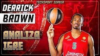 Derrick Brown - Analiza igre | KK Crvena zvezda 2019/20
