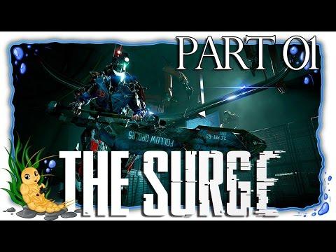 The Surge | Part 01 | Neuer Job, neue Zukunft? [German/Blind/Let's Play]
