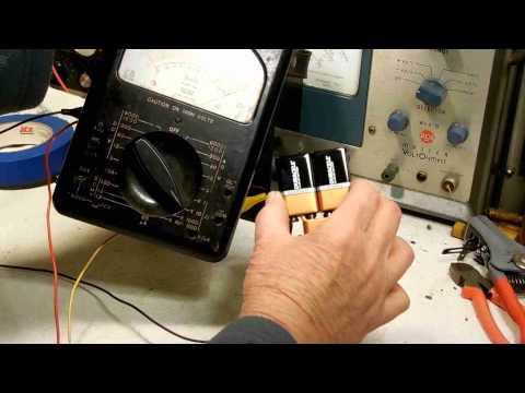 27VDC battery for Triplett Meter