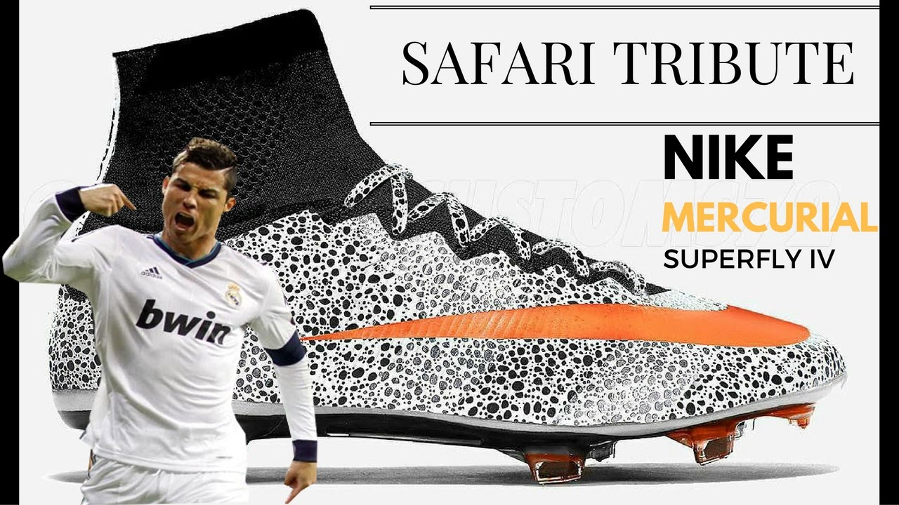 best website great quality sale online Nike Mercurial Safari CR7 Superfly Tribute New Cleats