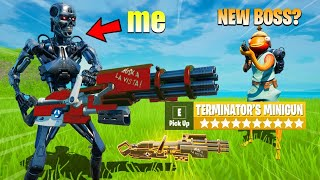 I Pretended to be the TERMINATOR in Fortnite