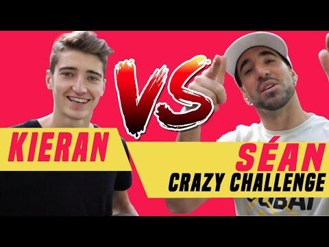 Séan Vs Kieran CROSSBAR Challenge + Panna + 2 Touch @seanfreestyle
