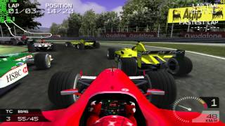 Formula One 2003 (PS2) - PCSX2 1.0.0 - Custom Race - Monza - Michael Schumacher - Full HD