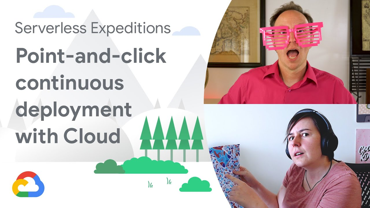 Point-and-click Continuous Deployment with Cloud Run