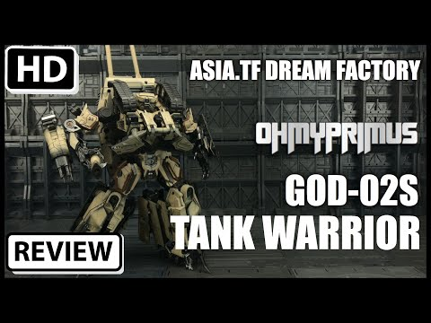ASIA TF Dream Factory GOD-02S KO Transformers Leader Class Desert Tan Brawl