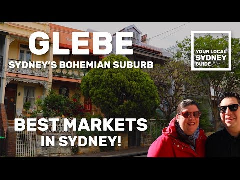 BEST MARKETS IN SYDNEY! - EXPLORING GLEBE (Your Local Sydney Guide)