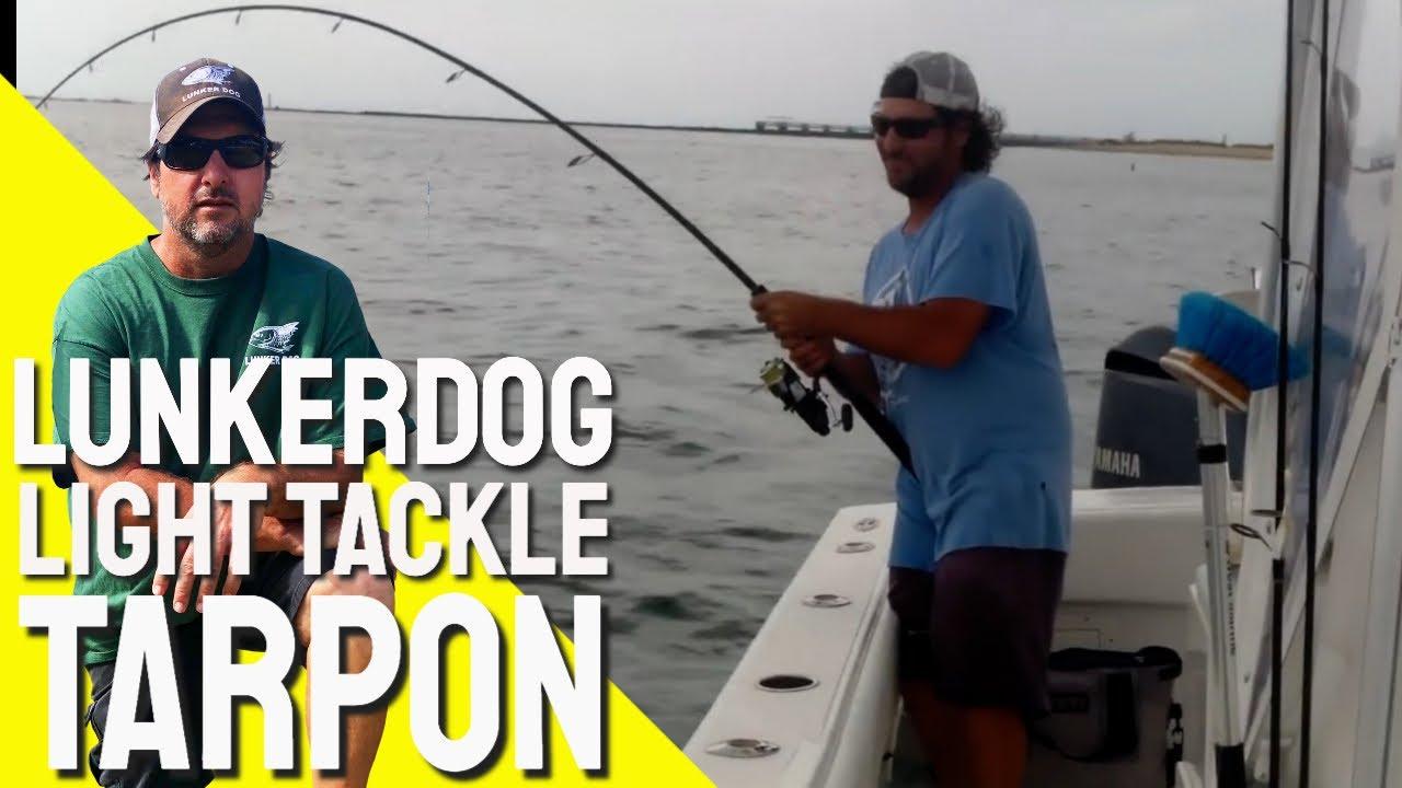 Big Tarpon Light Tackle - Soul Shrimper Custom Rod
