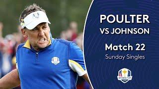 Poulter vs Johnson | Sunday Singles | 2018 Ryder Cup