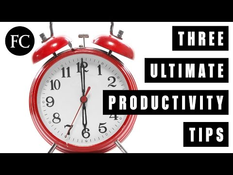 The Only Three Productivity Tips You Need (And Why We're So Obsessed with Them)