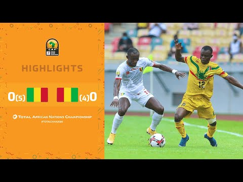 HIGHLIGHTS | Total CHAN 2020 | Semi Final 1: Mali 0 (5) - (4) 0 Guinea