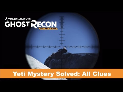 Ghost Recon Wildlands | Yeti Mystery Solved | All Clues