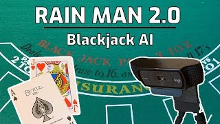 L'HOMME de la PLUIE 2.0, Blackjack AI - Partie 1 - le Comptage des Cartes, à l'Aide de l'Apprentissage Machine et Python
