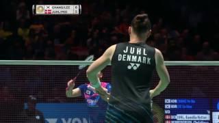 yonex all england open 2017   badminton f   chang lee vs juhl ped hd