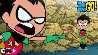 Au secours des pizzas ! | Teen Titans Go! | Cartoon Network
