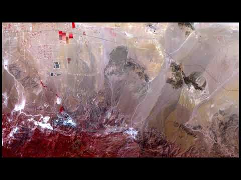 Blackhawk, Silver Reef Rock Avalanches, Multispectral Image Analysis, 4k HD