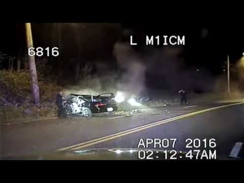 Seattle Police Dash Cam Chase Ends in Fatal (2) Crash. Carjacking.(new)