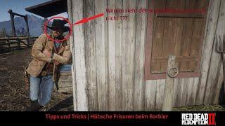 Red Dead Redemption 2 Tipps und Tricks | Folge 2 | Hübsche Frisuren beim Barbier