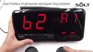 Настройка приемника SOLT SM3-23PN