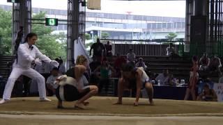 Mistrzostwa Świata w Sumo 2015 - Ola Rozum