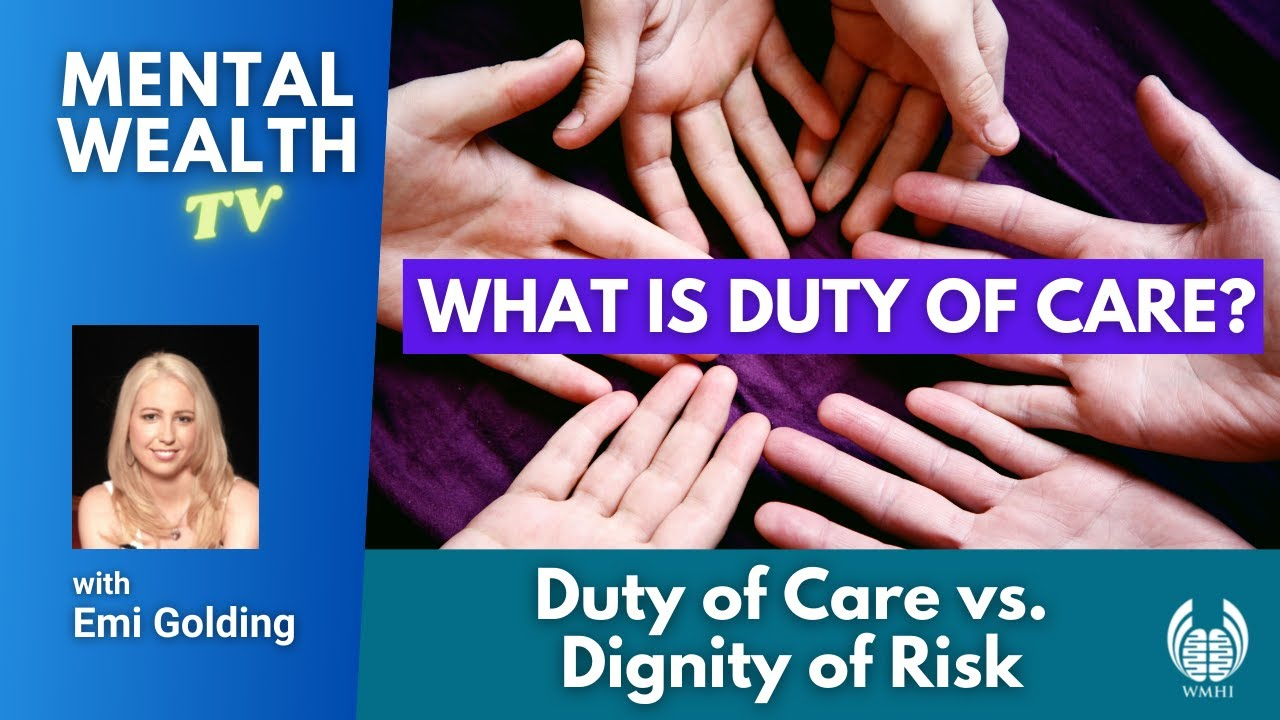 what is duty of care duty of care vs dignity of risk by