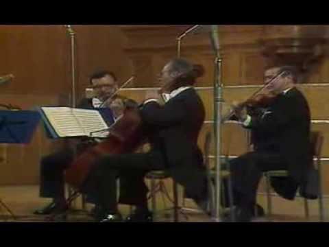 Tchaikovsky, Quartet No.2 - Borodin Quartet - Чайковский, квартет No.2, квартет им. Бородина