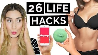 26 life hacks that will change your life
