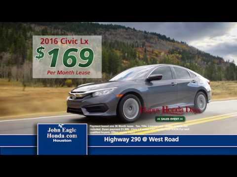 John Eagle Honda Houston  Low Price Hondas