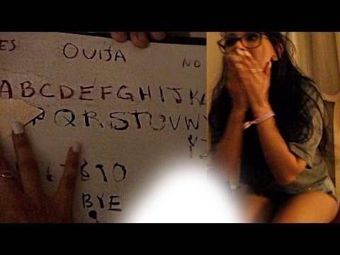 Thumbnail: HOMEMADE OUIJA BOARD IN HAUNTED HOTEL (DO NOT TRY)