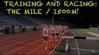 TRAINING FOR A SUB 4:40 MILE! | How to run faster and race/pacing tips