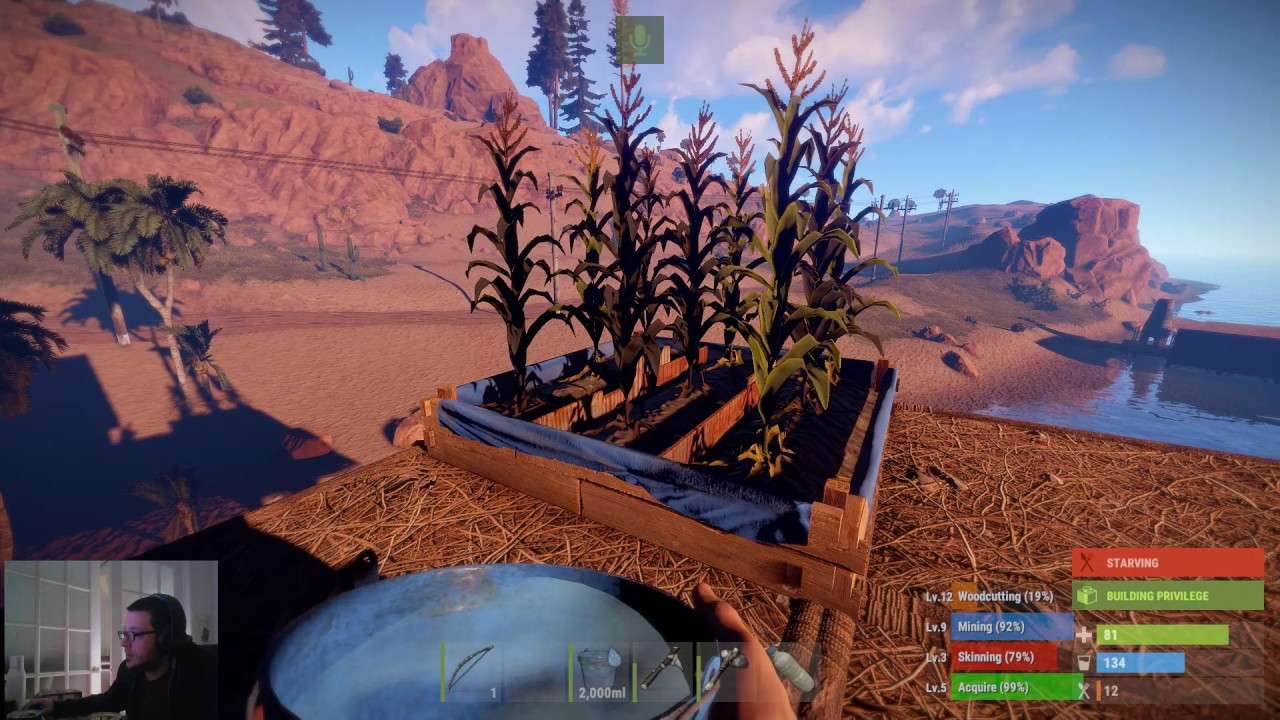 How To Water Your Plants In Rust Rustedca Youtube