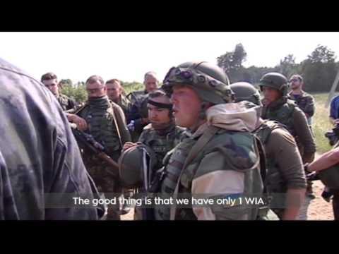 Fearless Guardian 2015 Military Drills: US paratroopers train Ukrainian National Guard