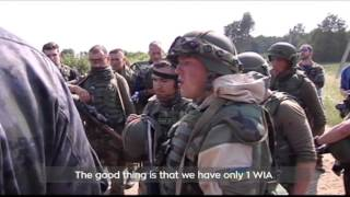 Fearless Guardian 2015 Military Drills: US paratroopers train Ukrainian National Guard