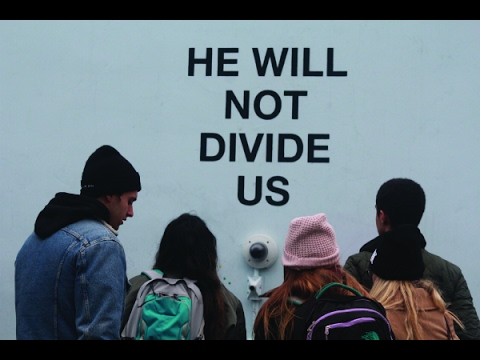 """Shia LaBeouf's  """"He Will Not Divide Us"""" Protest is Shut Down For Good!"""