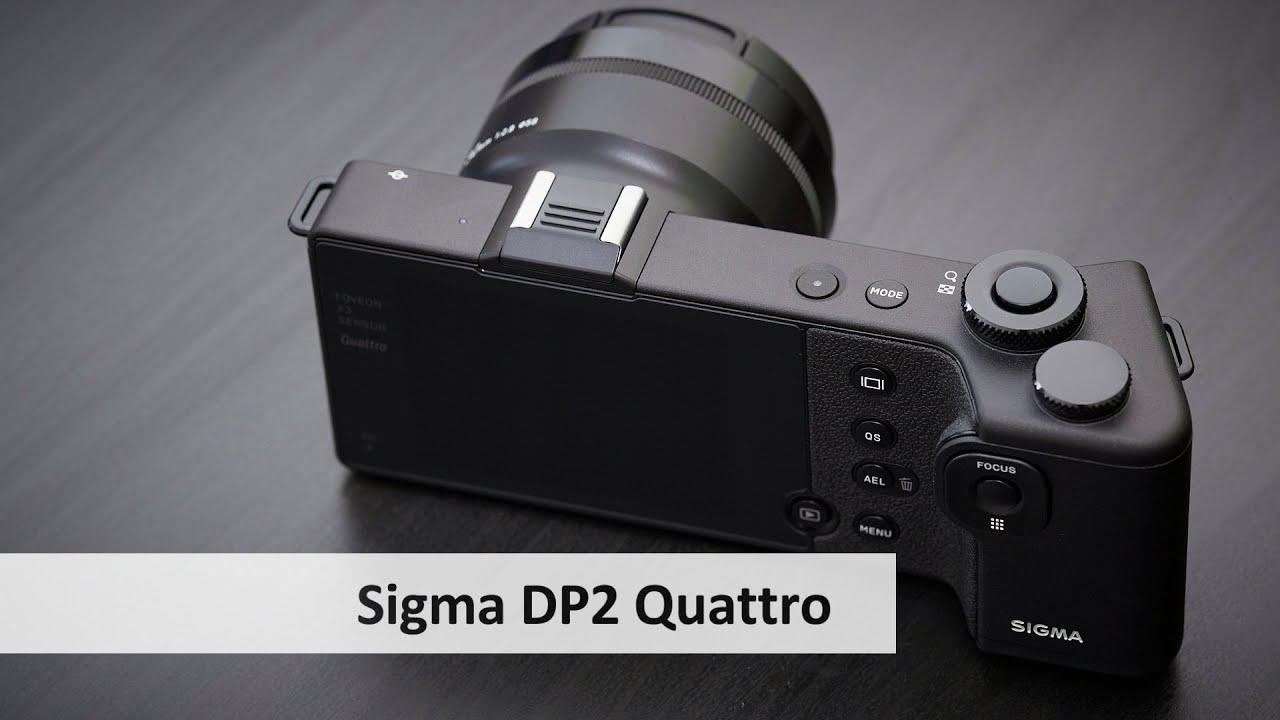 Download Sigma dp2 Quattro | Highend-Kompaktkamera mit Foveon-Sensor im Unboxing [Deutsch]