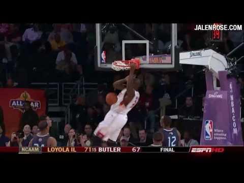 Shaq Between-the-legs Pass and Dunk - HD - NBA All Star Game 2009 Highlights