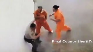 Top 15 Craziest Prison Moments Caught on Camera