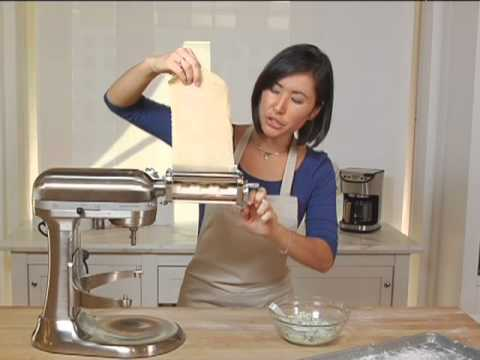 Kitchenaid Stand Mixer Ravioli Attachment Youtube