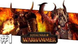 Warhammer Total War - Chaos Versus Beastmen Versus Campaign - Part #1