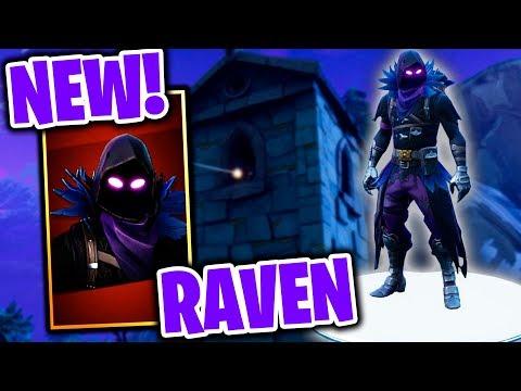 *NEW* RAVEN SKIN IS THE BEST FORTNITE SKIN OF ALL TIME!! (NEW SKIN UPDATE & GAMEPLAY!)