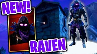 *NEW* RAVEN SKIN IS THE BEST FORTNITE SKIN OF ALL TIME!! (NEW SKIN UPDATE & GAMEPLAY!)