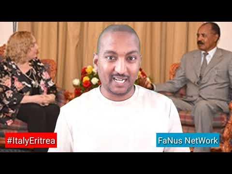 Eritrea : ዑደት ምኽትል ወጻኢ ጉዳይት ጥልያን Visit of Italian vise foreign minister