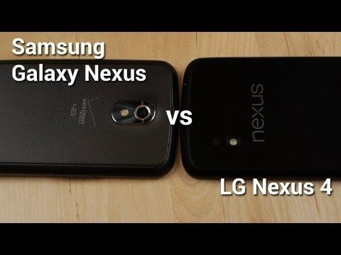 Nexus 4 vs Galaxy Nexus!