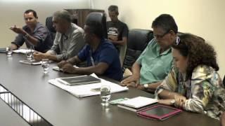 Vereadores recebem representantes da Copasa na Câmara