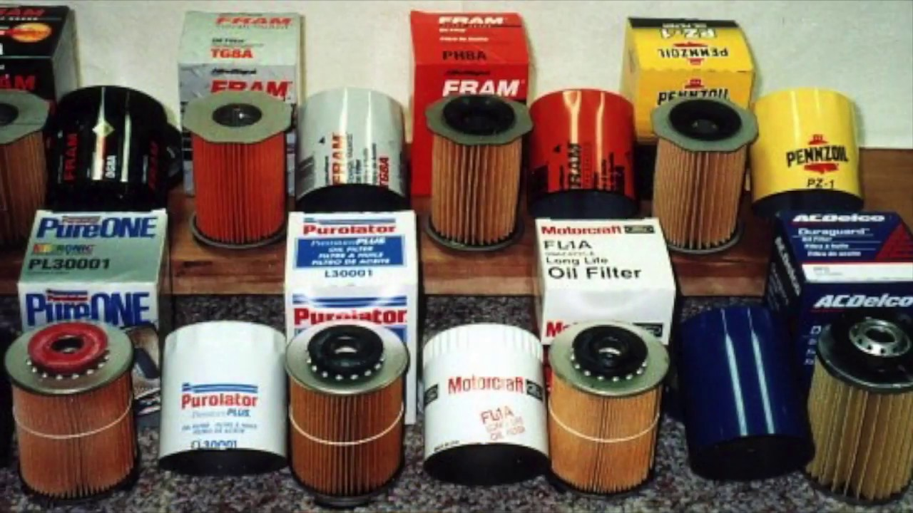 What is the best oil filter youtube for Best motor oil brands
